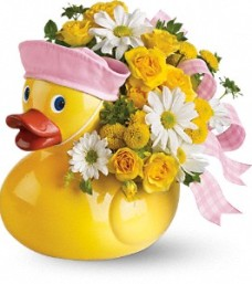 Ducky Delight – It's a Girl