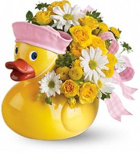 Baby_Flowers_Ducky_Delight_Girl_T04N300A_32_Lougheed_Flowers_Florists_Sudbury