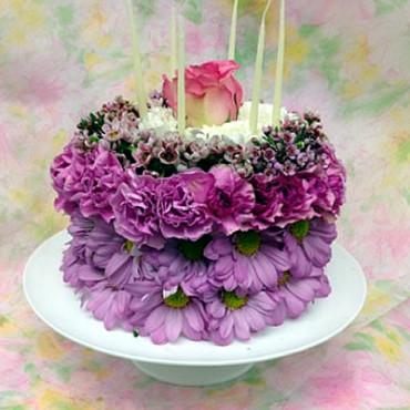 Birthday Cake Bouquet