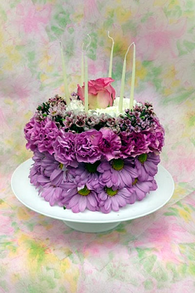 Birthday Cake Bouquet