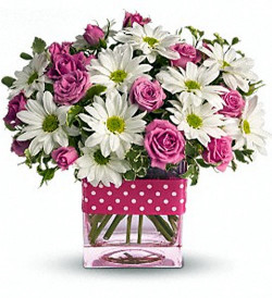 Custom_Designs_Polka-Dots-_-Posies_Lougheed_Flowers_Florist_Sudbury