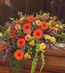 Summer Casket Flowers