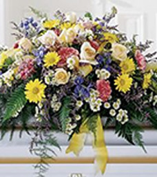 Heavenly Scented Casket Flowers