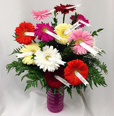 Vase Of Daisies Sudbury Flower Delivery L Lougheed