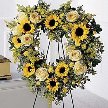 Funeral_Wreaths_Crosses_Hearts_99-forever_heart_Lougheed_flowers_sudbury