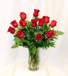 A Perfect Dozen Roses