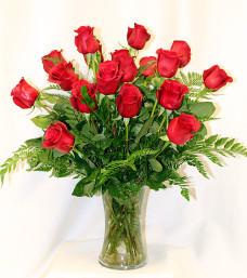 Classic Rose Vase