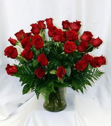 Luxurious Rose Vase