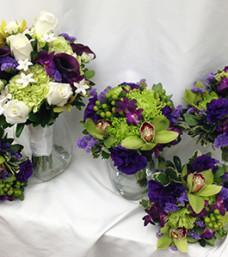 Purple & Lime Green Tableau