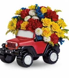 Teleflora's Jeep Wrangler King of the Road