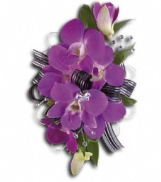 Purple Promise Corsage