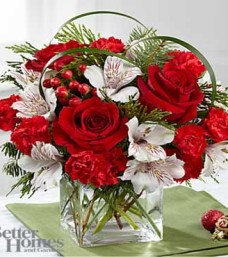 Holiday Hopes Bouquet by BHG