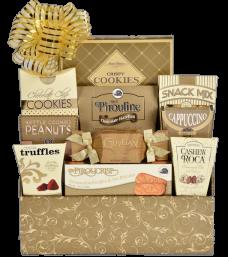 Golden Impression Gift Basket