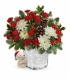 Teleflora Send a Hug Bear Buddy