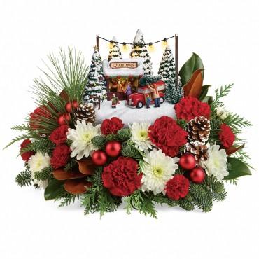 2017 Christmas Tel Th Kinkade Family Tree T17X200a
