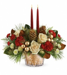 Teleflora Winter Pines Centerpiece