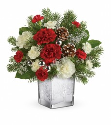 Teleflora Woodland Winter