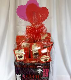 Valentines Delight Gift Basket