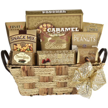 GBA 827 The Elegant Touch Gift Basket  Image