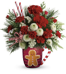 Teleflora Send a Hug Winter Sips