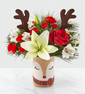 2109 Christmas FTD Shine Bright Bouquet Large Image