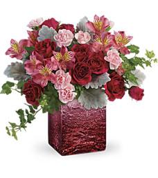 Teleflora's Ooh La Ombre Bouquet